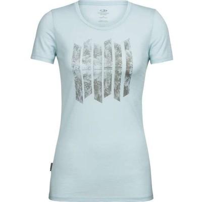 アイスブレーカー レディース Tシャツ トップス Icebreaker Women's Tech Lite Soundless SS Low Crewe