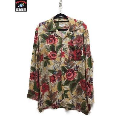 Engineered Garments/19SS/Classic Shirt Hawaiian Floral/S 総柄[▼]