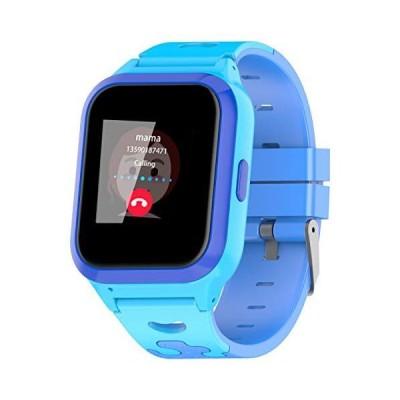 Vowor 子供用スマートウォッチ 4G WiFi GPS LBS トラッカー SOS 緊急通話 ビデオチャット 子供用スマートウォ