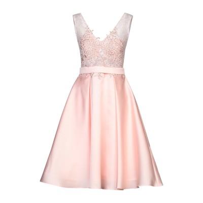 ALLURE 7分丈ワンピース・ドレス サーモンピンク 10 ポリエステル 100% 7分丈ワンピース・ドレス
