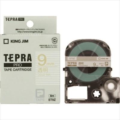 キングジム テプラPROテ-プカ-トリッジ 幅9mm 透明 (ST9Z)
