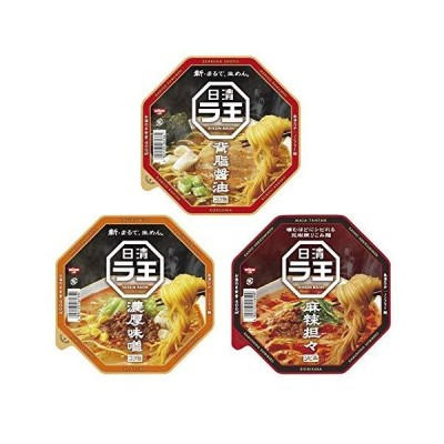 日清食品 ラ王3種詰合せ 1箱(12食入)