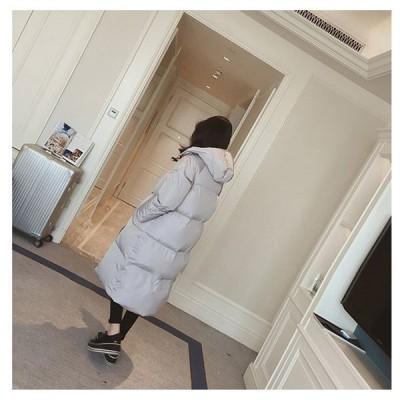 中綿ダウンジャケット ダウンコート 中綿コート ロング丈 ダウンジャケット レディース ブルゾン トップス 長袖 中綿 厚手 暖かい 防風 防寒 ファー付き