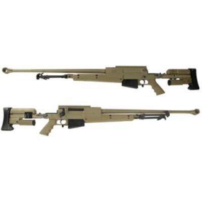 S&T PGM Mini-Hecate.338 ガスライフル TAN(AIRSOFT刻印) 【ハードガンケース付属】