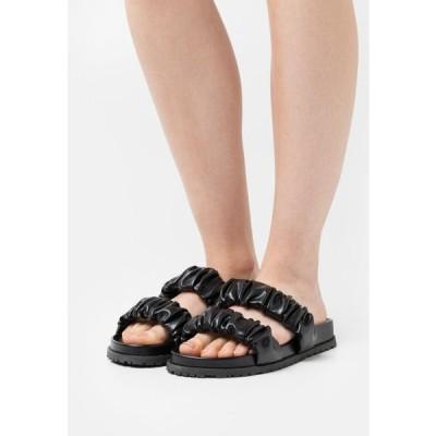 レディース 靴 シューズ RUSH TOP CHUNKY - Mules - black