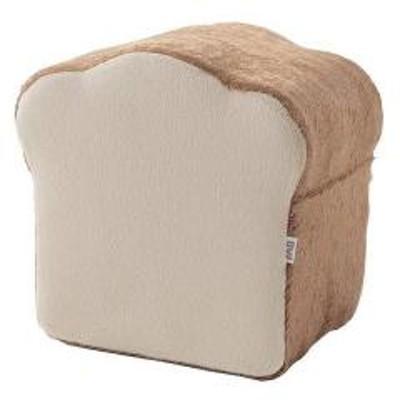 食パンクッション 4枚切り 幅37cm 4枚セット トースト (  食パン型 クッション パンクッション スツール 食パン 低反発 低反発クッション 座布団 洗える )