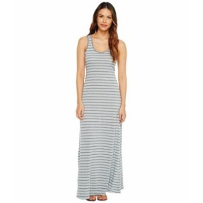Alternative オルタネイティブ ドレス 一般 Eco Jersey Yarn-Dye Stripe Double Scoop Tank Dress