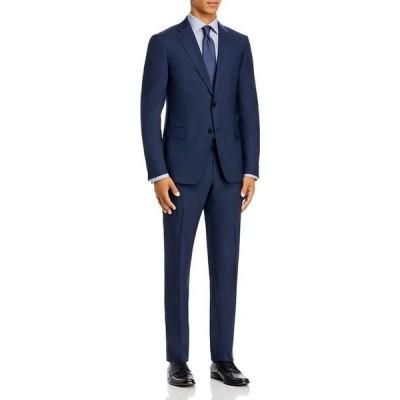 ゼニア メンズ ジャケット・ブルゾン アウター Travel Wool Slim Fit Suit
