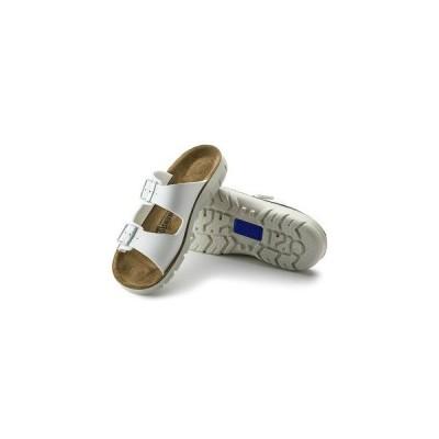 シューズ ファッション サンダル BIRKENSTOCK ビルケンシュトック ホワイト レディース ビルバオBILBAO 歩きやすい 革 ビルコフロー 幅狭 女性用 お取り寄せ商品
