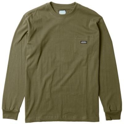 ヴィスラ メンズ Tシャツ トップス Vissla Creators Block Eco Pocket Long-Sleeve T-Shirt