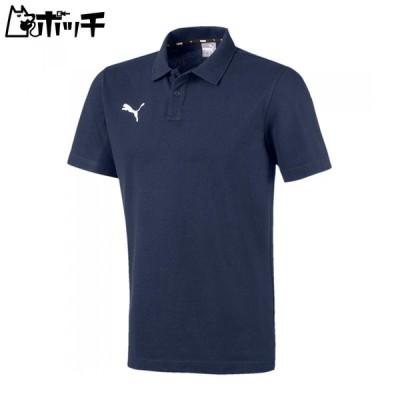 プーマ ジャパン TEAMGOAL23 カジュアル ポロシャツ 656978 06ピーコート/プーマ ホワイト PUMA ユニセックス サッカー サッカー用品 ボール