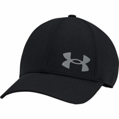 アンダーアーマー Under Armour メンズ キャップ 帽子 Iso-Chill ArmourVent Stretch Training Hat Black/Pitch Gray