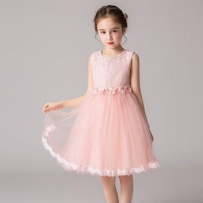 子供ドレス ピアノ発表会  結婚式 キッズ フォーマルドレス 子どもドレス ジュニアドレス 3色 110 120 130 140 150 160  新品