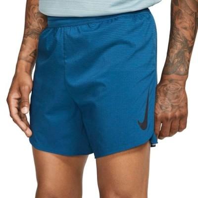 ナイキ カジュアルパンツ ボトムス メンズ Nike Men's AeroSwift 5'' Running Shorts BlueForce/Black