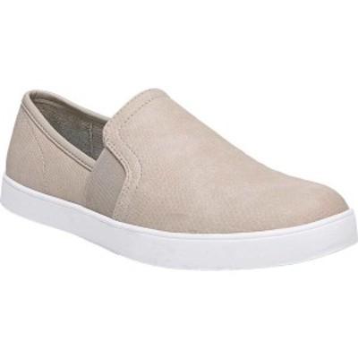 ドクター・ショール レディース スニーカー シューズ Luna Slip On Sneaker Simple Taupe Larsen Smooth Leather