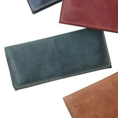 ヌメ革 長財布 グリーン(日本製 財布)(内祝い 出産内祝い 結婚内祝い ギフト 引き出物 お返し)