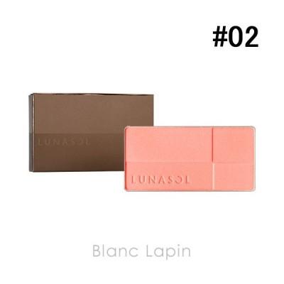 ルナソル LUNASOL カラーリングシアーチークス レフィル #02 Clear Pink 7.5g [636930]【メール便可】【クリアランスセール】