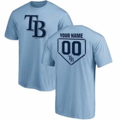 Fanatics Branded ファナティクス ブランド スポーツ用品  Fanatics Branded Tampa Bay Rays Light Blue Personalized RBI T-Shirt