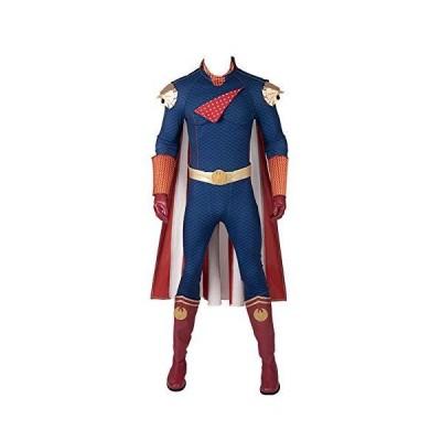 男の子用 ホームランダー コスプレコスチューム スーパーヒーローホームランダー ジャンプスーツ ハロ