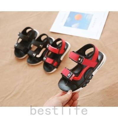 サンダル子供女の子キッズシューズキッズ女の子春ジュニア韓国風kidsサンダル福袋サンダル夏物2019靴旅行子供靴新作サンダル子ども靴