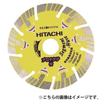 日立 ダイヤモンドカッター プロテクタタイプ 0032-4698 波形セグメント 外径105mm 穴径20mm 使用方法乾式 長寿命+切れ味 HiKOKI ハイコーキ