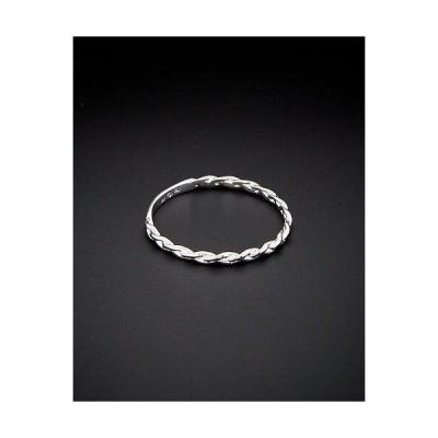 レディース アクセサリー  14K Italian Gold Braided Ring