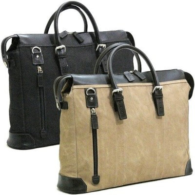 ビジネスバッグ メンズ ショルダー付属 日本製 豊岡製 ブリーフケース 軽量 大容量 ビジネスバッグ 出張 ブリーフケース 合皮 2way 本革付属