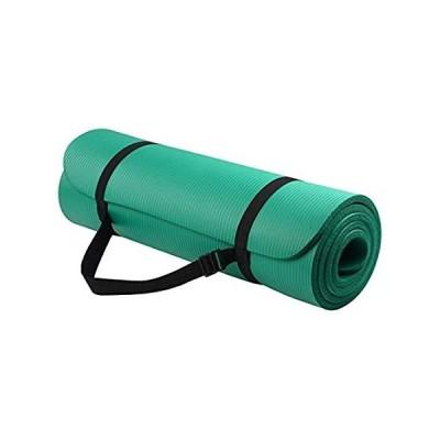 BalanceFrom GoYoga All-Purpose 1.3cm Extra Thick High Density Anti-Tear Exe並行輸入