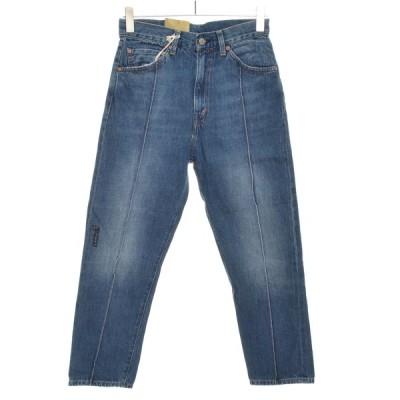 LEVI'S VINTAGE CLOTHING リーバイスビンテージクロージング ジーンズ 1950s 701 赤耳 29186-0001 サイズw28 コットン レディース インディゴブルー