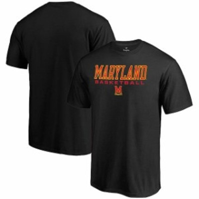 Fanatics Branded ファナティクス ブランド スポーツ用品  Fanatics Branded Maryland Terrapins Black True Sport Basketball T-Shirt