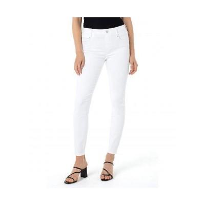 Liverpool ライブプール レディース 女性用 ファッション ジーンズ デニム Gia Glider Ankle in White - White