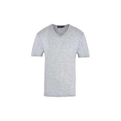 POLO RALPH LAUREN T シャツ ライトグレー XL コットン 60% / ポリエステル 40% T シャツ