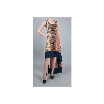 ドレス 海外セレクション T-Bags Los Angeles Hi-Lo Tank Dress W/ Contrast Band