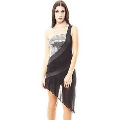 アンブランデッド TOV レディース Asymmetrical Sequin Dress