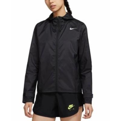 ナイキ レディース ジャケット・ブルゾン アウター Women's Essential Water-Repellent Runnning Jacket Black/reflective Silv