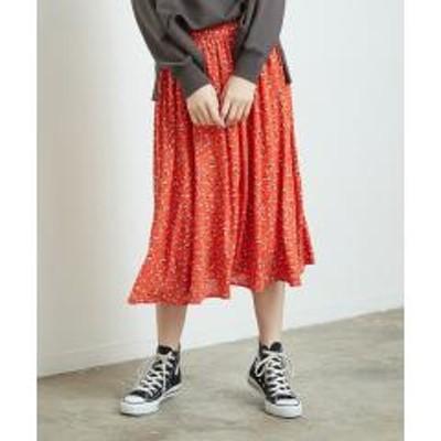 ROPE' PICNIC(ロペピクニック)花柄ギャザースカート【お取り寄せ商品】