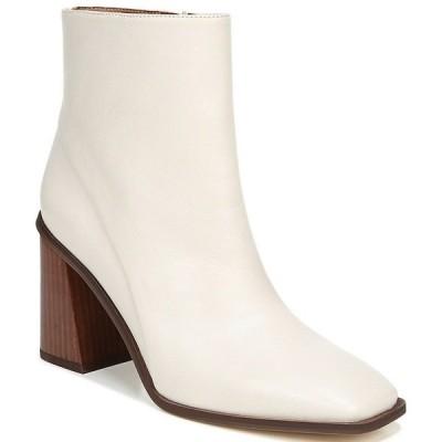 フランコサルト レディース ブーツ&レインブーツ シューズ Sarto by Franco Sarto Vallah Leather Block Heel Booties Putty