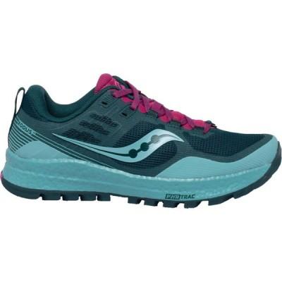 サッカニー Saucony レディース ランニング・ウォーキング シューズ・靴 Xodus 10 Trail Running Shoes Blue/Fuchsia