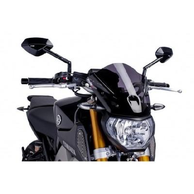Puig: ウィンドスクリーン Naked New Generation Yamaha MT-09 SPORTS(ショート)