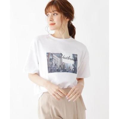 SHOO・LA・RUE / シューラルー 【M-L】転写アップリケTシャツ