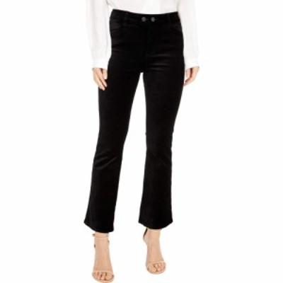 ペイジ Paige レディース ジーンズ・デニム ボトムス・パンツ Claudine w/ Double Button + Joxxi Pockets Black Overdye Velvet
