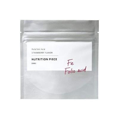 オルビス(ORBIS) ニュートリションピース 鉄&葉酸(ストロベリー風味) 30~60日分(1.0g×60粒)◎タブレット◎