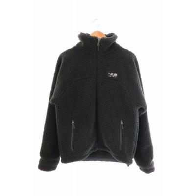【中古】ラブ Rab Double Pile Jacket ダブル パイル ジャケット M 黒 ブラック ブランド古着ベクトル 中古200727 0030 メンズ