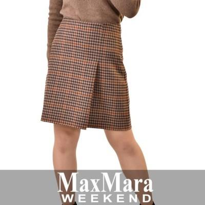 マックスマーラ ウィークエンド ヴァージンウール スカート MAXMARA WEEKEND SABINA 51060283 2