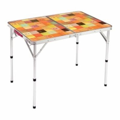 コールマン ナチュラルモザイクリビングテーブル/90プラス (2000026752) キャンプ テーブル Coleman