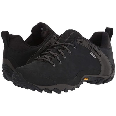 メレル Chameleon 8 Leather Waterproof メンズ Hiking Black