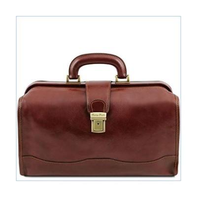Tuscany Leather Raffaello Doctor leather bag Brown並行輸入品