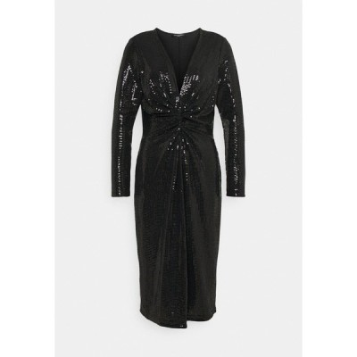 イルセヤコブセン ワンピース レディース トップス DRESS - Cocktail dress / Party dress - black