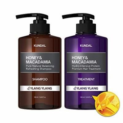 [kundal公式]プレミアムヘアケアスペシャルセット イランイラン・シャンプー500ml&トリートメント500ml premium hair care special set