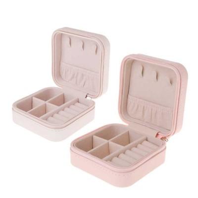 アクセサリーケース ジュエリーボックス PU 2ピース 収納オーガナイザー